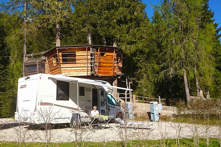 Ferien Camping Wohnmobil